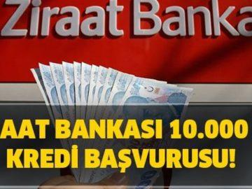 Ziraat Bankası Bireysel Temel İhtiyaç Destek Kredisi Sonuçları Nereden, Nasıl Öğrenilir? Ziraat Bankası 6 Ay Geri Ödemesiz Ertelemeli 10 Bin TL Kredi Sonucu Sorgulama